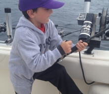 Reeling them  in on Lake Charlevoix