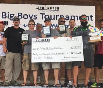 1st Place Team -  Ludington Offshore Classic  BIG BOYS Tournament 2018