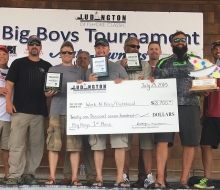 1st Place Team -  Ludington Offshore Classic  BIG BOYS Tournament 2018
